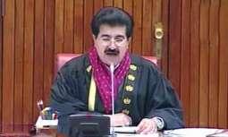سينيٽ چيئرمين پاران ايشيائي پارليماني اسيمبلي جي اجلاس جي شرڪت ڪندڙن لاءِ پيغام