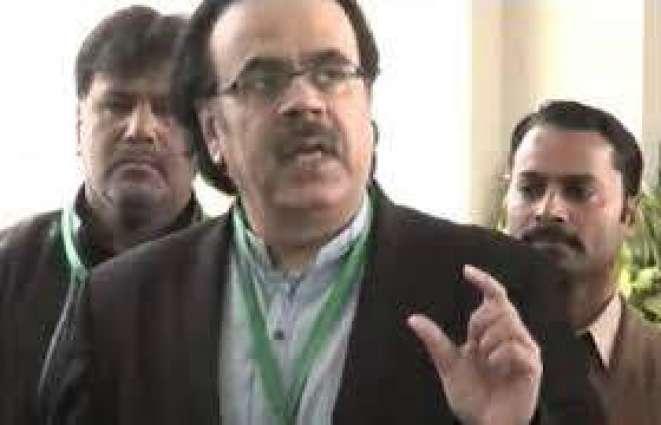 پی ٹی وی کرپشن کیس:ڈاکٹر شاہد مسعود دا 5دناں دا ریمانڈ منظور اینکر نوں ایف آئی اے ٹیم نے اسلام آباد دی سیشن عدالت وچ پیش کیتا