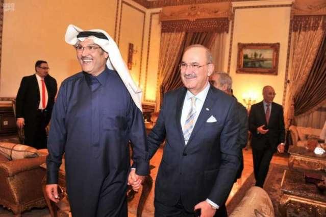 سفير خادم الحرمين الشريفين بجمهورية مصر يقيم حفل عشاء تكريمًا للسفير العراقي بمناسبة انتهاء عمله بالقاهرة
