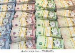 ڈالر مگروں سعودی ریال نوں وی پر لگ گئے