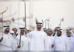 <span>Mohamed bin Zayed attends March of Union</span>