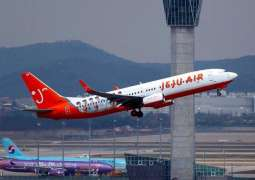 Jeju Air's total passenger traffic tops 60 mln