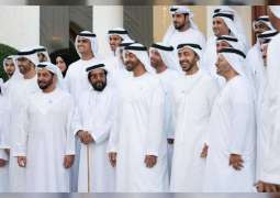 <span>Mohamed bin Zayed expresses pride in UAE diplomacy, passport ranking achievement</span>