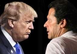 عمران خان دے کراراے جواب نے ڈونلڈ ٹرمپ نوں سوچن لئی مجبور کیتا