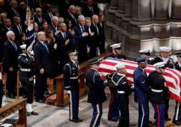State Funeral Underway for Former US President George H.W. Bush