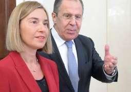 Lavrov, Mogherini Discuss Case of RIA Novosti Ukraine Head in Milan- Russian Envoy to OSCE