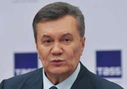 Ukrainian Ex-Head Yanukovych's Lawyers Urge World Leaders to Restore Ukraine's Rule of Law