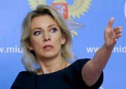 Russia's Zakharova Discusses Vyshinsky's Arrest With OSCE Media Freedom Envoy in Milan