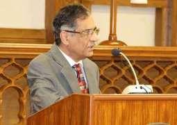 چیف جسٹس پاکستان جسٹس میاں ثاقب نثار دابھاگ ناڑی اچ پیونڑ دے صاف پانڑین دی عدم فراہمی تے ازخود نوٹس