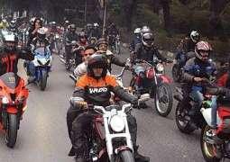 موٹروے اُتے موٹر سائیکل چلان دی اجازت