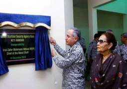 Naval chief inaugurates PMSA Base at Keti Bandar