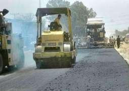 Deputy Commissioner Bahawalpur inspects under construction Ring Road