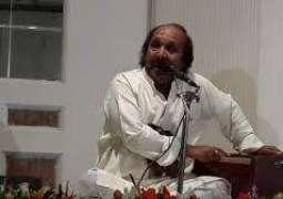 گلوکار تے فنکار منصور ملنگی دا تریجھا ورہینڑاں اج تھیسی