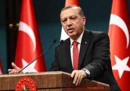ترکی دے صدردی فرانس اچ مظاہرین دے خلاف طاقت دے استعمال تے تنقید