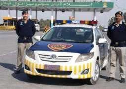 National Highways and Motorway police (NHMP) reunites a child with his family