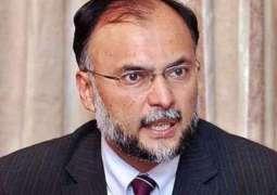 پاکستان اٹی اقلیت آتے پورو مذہبی آجوئی ءِ، امریکہ غان سرٹیفکیٹ ہلنگ نا ضرورت اف، احسن اقبال