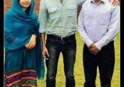 Malala's activism inspires Shehzad Roy every day