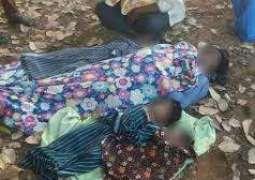 بھارت : ماں 3 بالاں سمیت خودکشی کر گھدی