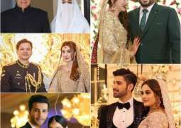 The most talked about Pakistani weddings of 2018