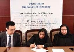 Korea Locus Chain to open digital asset exchange in Dubai