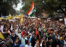 بھارت ،کرپشن دے خلاف مظاہرہ