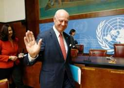 De Mistura Says 'Extra Mile to Go' in Securing Balanced Syria Constitutional Committee