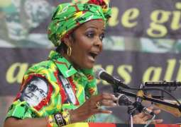 South Africa issues arrest warrant for Grace Mugabe: police
