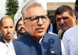 صدر مملکت ڈاکٹر عارف علوی نا کیڈٹ کالج حسن ابدال اٹی سالانہ دود آن تران