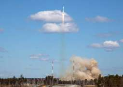 Soyuz Carrier Rocket With French Spy Satellite Blasts Off From Kourou Space Center