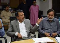 Commissioner Hyderabad asks for completion of development projects