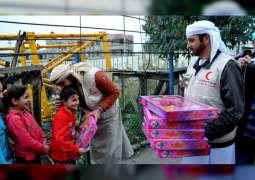 <span>حمدان بن زايد : الإمارات ملتزمة بالمبادئ الإنسانية العالمية التي لا تفرق بين متلقي المساعدات</span>