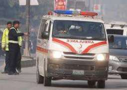 Three killed, three injured in road accident in Sargodha