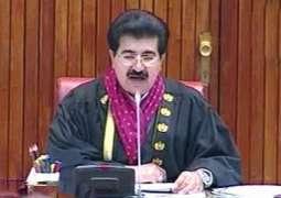 چیئرمین سینیٹ محمد صادق سنجرانی پارلیمانی وفددے نال ریاض توں مدینہ منورہ پج گین