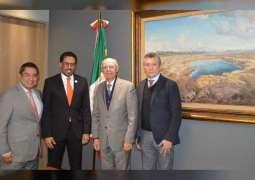 <span>سفير الدولة : 7 رحلات يومية بين الإمارات والمكسيك </span>