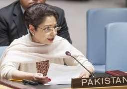 وزیراعظم عمران خان نال اقوام متحدہ اچ پاکستان دی مستقل مندوب ملیحہ لودھی دی ملاقات