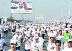 Proceeds of Fifth Zayed Marathon to go for leprosy patients in Egypt