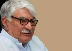 Benazir's bold stance against terrorism claims her life; Asfandyar Wali Khan eulogizes her political struggle