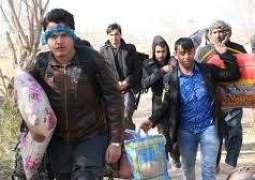 رجسٹرڈ افغان مہاجراں دی وطن واپسی دا عمل سردی دے موسم پاروں 28فروری تئیں موخر