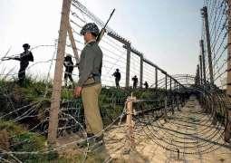 بھارتی فوج دی شاہ کوٹ سیکٹر اچ شہری آبادی تے بلا اشتعال فائرنگ ،ہک تریمت شہید، ڈو تریمتیں اتے ترائے بالاں سودھے 9 لوک زخمی تھین ، آئی ایس پی آر