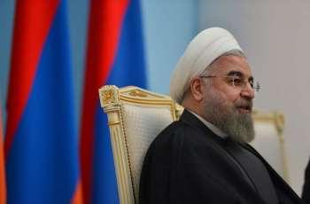 """امریکی پابندیاں """"اقتصادی دہشت گردی"""" ہن، ایرانی صدر"""