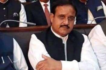 وزیراعلیٰ پنجاب سردار عثمان بزدار دی ایشیئن گیمز کلاسک پاور لفٹنگ اچ بے مثال کارکردگی دا مظاہرہ کرنڑ آلے پاکستانی کھلاڑی مصطفی فاران بیگ کو ںمبارخباد