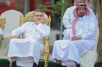 انتصارات سعودية إماراتية كويتية في افتتاح بطولة اساتذة التنس