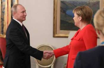 Putin, Merkel Discuss Kerch Strait Incident, Syria, INF Treaty in Phone Talks