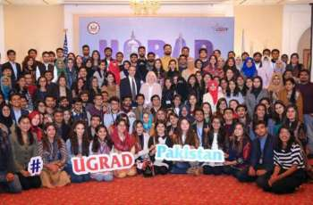 Over 135 Pakistani Students Prepare for a Semester Exchange in the United States