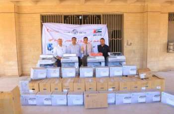 ERC supplies Aden University Law School with educational supplies, equipment