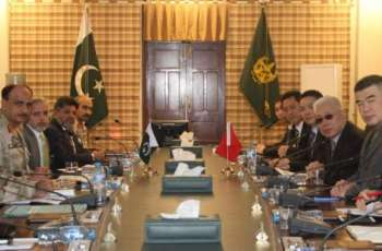 High level Chinese delegation visits ANF HQ