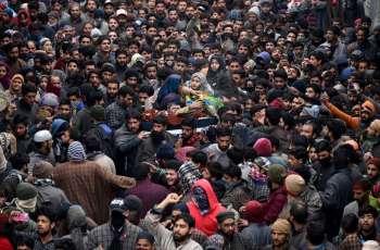 Bilal, Naqash visit families of teenage martyrs in Hajin