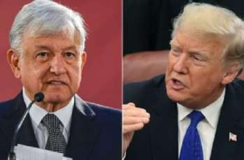 Trump Discusses Illegal Migration with Mexican Counterpart - White House