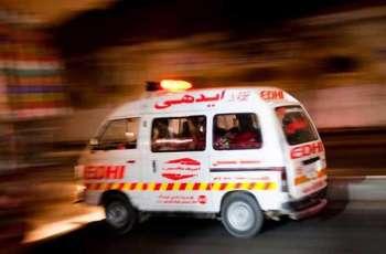 Man dies as vehicle hit in Uthal