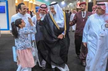 الأمير تركي الفيصل يزور ملتقى ألون السعودية